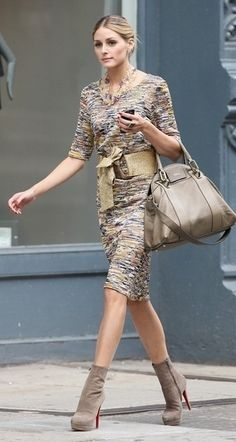 Tabitha| Olivia Palermo | Street Style ❥|Mz. Manerz: Being well dressed is a beautiful form of confidence, happiness politeness