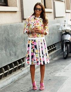 Don't be afraid of prints #streetstyle
