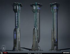 futuristic pillar (The sort of pillar that could be placed within my futuristic alien map?)
