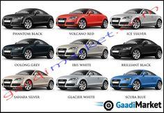 Best AUDI COLOUR OPTIONS Images On Pinterest Colours - Audi car colors
