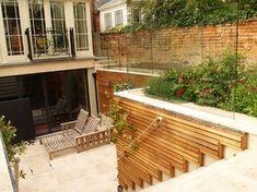 North Oxford Basement Terrace.