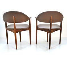 daVintage vestervig eriksen rosewood dining chairs Brdr Tromborg 1960s IMG_4530