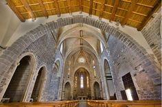 Interior iglesia arciprestal, San Mateo. El Maestrazgo Castellón, Spain.