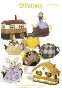 Patons Tea Cosies Knit & Crochet Book 3057