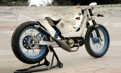 Vintage Addiction Moped