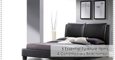 5 Essential Furniture Items for A Contemporary Bedchamber