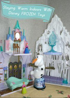 Having fun indoors on cold days with Disney FROZEN toys!  #FrozenFun #Cbias #Shop