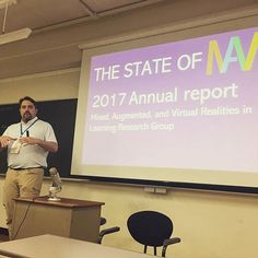 @jaltmavrsig had their SIG Forum this weekend at @pansig2019 - a ton of great presentations and projects going on. #MAVR #PANSIG #edtechchat #ar4ed