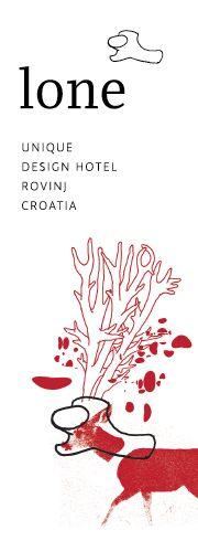 Design Hotel Lone Rovinj, Istria, Croatia. More info http://www.lonehotel.com/en/