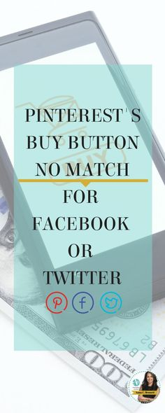 Pinterest was not the first to launch the buy buttons. Facebook started testing them in July 2014 and Twitter in September 2014. However, what makes Pinterest a winner over the other two giants is that Pinners have a buying mindset while fans of Facebook and Twitter do not. Pinterest is not a social media network and unfortunately, I continue to see many businesses manage their accounts as if it were!!!