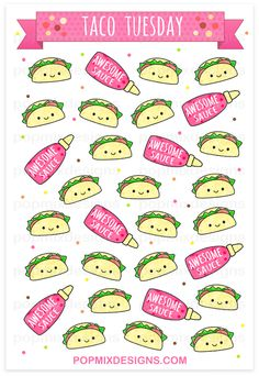 http://popmixdesigns.com/item/kawaii-taco-stickers