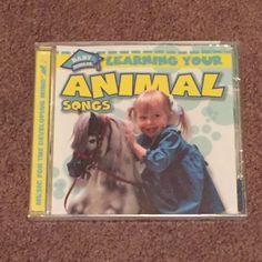 BABY Scholar Learning Your Animal Songs (CD, Music, Children's, 2003, Brand New) #AnimalSongsNurseryRhyme