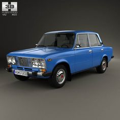 VAZ Lada 2106 1976 3d model from humster3d.com. Price: $75