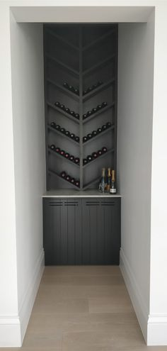 Wine Cabinet Three Birds Renovations House 8 Bonnie's Dream Home - Luxery Houses Home Bar Sets, Bars For Home, Log Home Kitchens, Hamptons Style Homes, Three Birds Renovations, Pantry Design, Wine Cabinets, Home Look, Luxury Interior