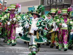 St Patrick's Day Parade Binghamton NY 2007 ...photo by geraldine clark
