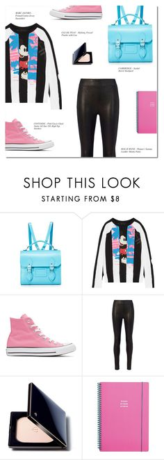 """""""IT´S KIND OF FUN TO DO THE IMPOSSIBLE"""" by larissa-takahassi ❤ liked on Polyvore featuring The Cambridge Satchel Company, Marc Jacobs, Converse, rag & bone, Clé de Peau Beauté and Go Stationery"""