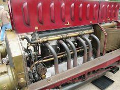 1905 Fiat Isotta Fraschini 16.9 litre aero engine