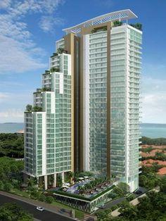 Uusi luxus condo Pattaya