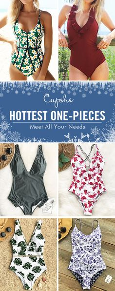 Feeling tired and craving for a poolside party or a beach leave? Pack these fascinating one-pieces. No matter swim in the water, play on the sand or walk along the beach, they're awsome. FREE shipping. Check now.