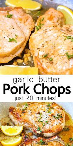 Best Pork Chop Recipe, Easy Pork Chop Recipes, Meat Recipes, Cooking Recipes, Healthy Recipes, Chicken Recipes, Baked Chicken, Healthy Chicken, Keto Chicken