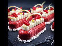 Silikomart Pop Eclair Kit - nadahnuće kokosa i malina - Ciciya PâtisserieandCo Creative Desserts, Gourmet Desserts, Fancy Desserts, Dessert Recipes, Patisserie Fine, French Patisserie, French Deserts, Cake & Co, Baking And Pastry