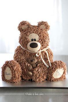 Brown bear cake - OMG I want this cake