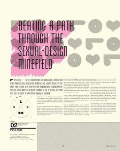 Edição especial da revista IdN sobre sexo / Blog Choco La Design