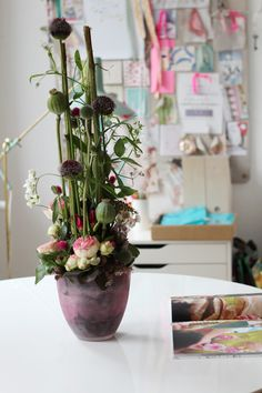 German florist Indigo in Hannover. via http://decor8blog.com/ {Very unique indeed.}