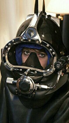 Diving helmet for women
