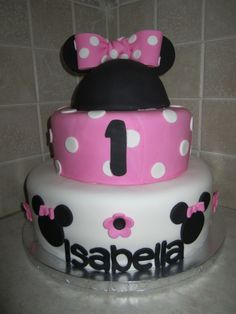 minnie mouse fondant cakes - Bing Images
