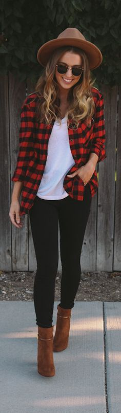 Checked / Fashion By The Day Book Blog