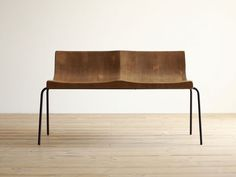 hiromatsu | gala seti steel two seater chair