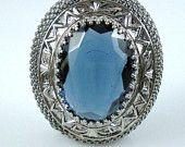 feelin blue vintage jewelry treasury on etsy - love it!