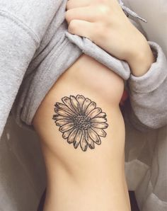 Oopsie-daisies! new rib tattoo