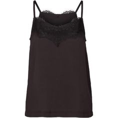 Jillian top. Cool strap top with lace detail in neckline front and back.