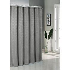 Duck River Schillman Jacq Shower Curtain Charcoal - SCSCC=12 /2065