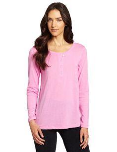 Hue Sleepwear Women's Long Sleeve Henley HUE. $11.08. Machine Wash. 65% Polyester/35% Cotton. Sleep tee. Henley