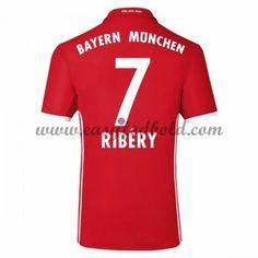 Fodboldtrøjer Bundesliga Bayern Munich 2016-17 Ribery 7 Hjemmetrøje