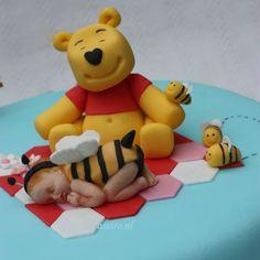 Winnie de Pooh caketopper