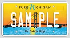 New Pure Michigan License Plates Unveiled