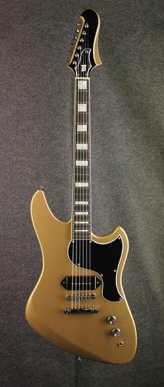 El hombre model guitar built by Bilt Guitars