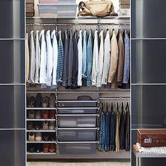 Platinum Elfa Reach In Closet