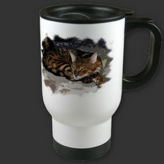 Bengal Cat Curl by Flamin Cat Designs at Zazzle
