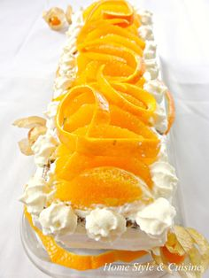 Orange cake, new blog spot!