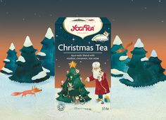 With the new YOGI TEA® Christmas Tea, we let the time that you spend waiting for Christmas pass more quickly by putting you in the warm, magical and reflective mood of Advent. #christmas #christmastea #yogitea