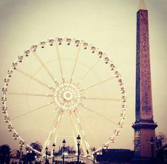 Paris, Grande Roue , Place de la Concorde, Obelisk