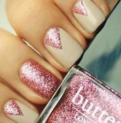 Triangle nails... Delta nails?!