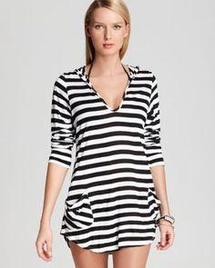 Ella Moss Swimsuit Cover Up - Portofino Hooded Tunic