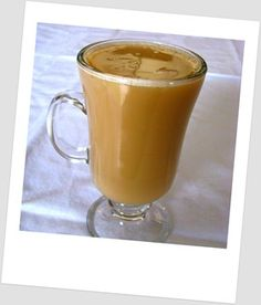 Coffee with coconut oil - I just tried it.  Delicious - tastes and looks like a latte.  So healthy.  You just blend a cup of coffee with 1 tbl coconut oil.  I used my Hamilton beach single drink blender.
