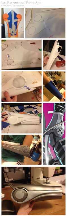 Lan Fan Automail WIP Comp 4: Arm by Foayasha.devianta...